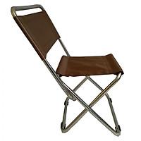 Ghế xếp inox loại nhỏ Thanh Long GXI-L03 35 x 30 x 65 cm Giao màu ngẫu nhiên