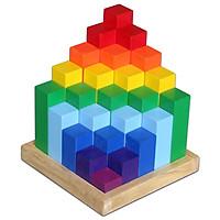 Tháp Diamond Mk - Đồ chơi gỗ