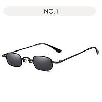 Men Small Frame UV400 Stylish Lightweight Sunscreen Sunglasses