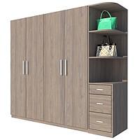 Tủ quần áo Cao Cấp Hàn Quốc alala.vn - Thương hiệu alala.vn (2m2 x 2m)