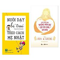 Combo Sách Nuôi Dạy Con Số Một: Nuôi Dạy Bé Trai Theo Cách Mẹ Nhật + Cách Nuôi Dạy Những Đứa Trẻ Dễ Cáu Giận, Khó Bảo (Tặng Bookmark Happy Life)