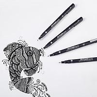 Bút nước vẽ kỹ thuật 0.7mm - BK1000 mực đen