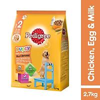 Thức ăn chó con Pedigree vị gà & trứng sữa túi 2.7kg