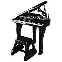 Đồ chơi âm nhạc cho bé - Đàn piano cổ điển kèm mic thu âm - Winfun - 2045 đồ chơi cho bé 3 tuổi trở lên - tặng đồ chơi dễ thương