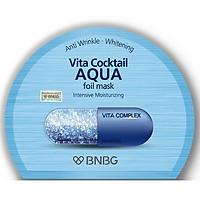 Mặt nạ cấp nước dưỡng da ẩm mượt, săn chắc BNBG Vita Cocktail Aqua Foil Mask - Intensive Moisturizing 30ml
