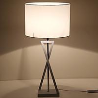 Đèn bàn cao cấp chữ X - đèn phòng ngủ - đèn phòng khách