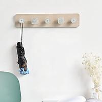 Thanh gỗ móc treo tường