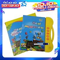 Sách quý điện tử song ngữ Anh – Việt cho bé (Bản nâng cấp 3+) Sách nói điện tử song ngữ (Anh - Việt)  giúp trẻ học tốt Tiếng Anh