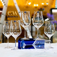 Ly Rượu Vang Đỏ Pha Lê Tiệp Khắc Crystalex Tulipa 450ml Wine Colection