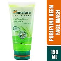 Sữa Rửa Mặt Neem Ngừa Mụn Trứng Cá Himalaya Herbals (150ml)