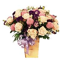 Hộp hoa tươi - Trăm Năm Tình Viên Mãn 4034