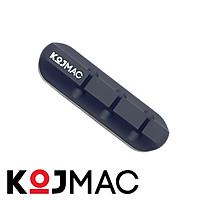 Cố Định Dây Cáp Điện Thoại KOJMAC PKA149 Smart Pro Silicon ABS Dán Tường Thông Minh - Hàng Chính Hãng ( Phụ kiện miếng kẹp vách bàn đỡ giữ tai nghe, giá sạc điện thoại, chuột thiết bị điện tử gọn gàng thông minh tiện lợi ... có sẵn keo dưới đế )
