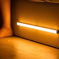 Đèn ngủ cảm ứng gắn giường, cầu thang, toilet, tủ đồ, tự động bật/tắt ánh sáng ban đêm, sạc bằng USB- TẶNG KÈM ĐÈN LED USB
