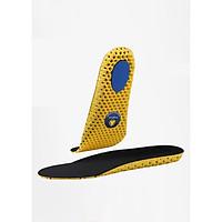 Lót giày thể thao EVA tổ ong có lớp kháng khuẩn và đệm gót kháng lực - buybox - BBPK132