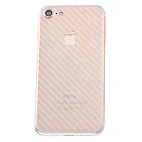 Miếng Dán Mặt Sau Vân Carbon Cho iPhone 7 (Trong Suốt) - Hàng nhập khẩu