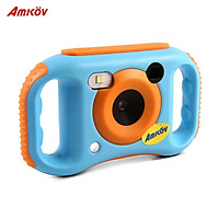 Amkov Kids Digital Video Camera WiFi Connection Max. 5 Mega Pixels Built-in Lithium Battery Christmas Gift New Year