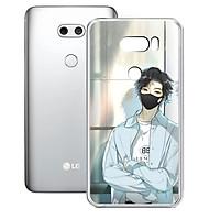 Ốp lưng điện thoại LG V30 - 01253 8022 COOLBOY02 - Silicon dẻo - Hàng Chính Hãng