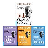Bộ 4 quyển sách của J.Krishnamurti