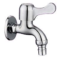 Vòi nước gắn tường, vòi xả chậu, vòi máy giặt Inox 304