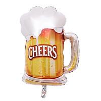 Bong bóng hình ly bia Cheers