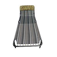 Giường xếp lưới thổ cẩm khung sơn tĩnh điện cao cấp!