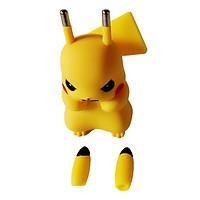 Đầu sạc củ sạc cốc sạc nhanh điện thoại công nghệ Quick Charge 2.0 2.4A hình Pikachu dễ thương đa năng phù hợp với nhiều dòng smartphone