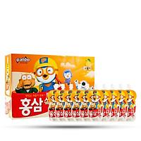 Nước uống hồng sâm Pororo trẻ em vị cam Hàn Quốc 10 gói x 100ml, nước hồng sâm paldo
