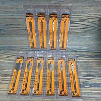 Bộ 10 Mũi khoan gỗ đầu dẹp 6,8,10,12,14,16,20,22,25,30mm Ingco