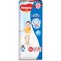 Tã Quần Huggies Dry Gói Đại XL42 (42 Miếng)