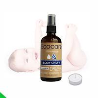 Tinh dầu xịt da đuổi muỗi, côn trùng EcoCare Body Spray - 100% thiên nhiên, an toàn trên da trẻ nhỏ, hiệu quả suốt cả đêm - Chai 50ml