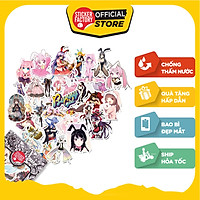 Bunny Girl Anime - Set 30 sticker hình dán