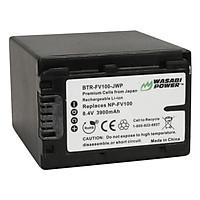 Pin Máy Ảnh Wasabi For Sony NP-FV100 - Hàng Nhập Khẩu