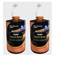 Combo 2 chai nước rửa tay Hand Soap Hương Cafe 500ml/chai
