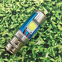 Đèn pha LED 2 tim (bản lớn) chân H6 siêu sáng cho các dòng xe DREAM, WAVE cũ TA243