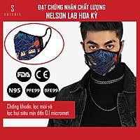Khẩu trang thời trang cao cấp Soteria Rap ST186 - Khẩu trang vải than hoạt tính [size S,M,L]