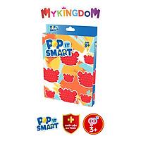 Đồ Chơi Pop It Smart Hình Con Cua Màu Đỏ CRB/POP01/RED