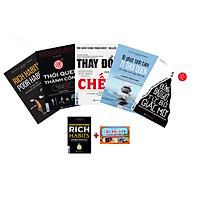 Combo Thay Đổi Thói Quen Làm Chủ Giấc Mơ: Rich Habits - Poor Habits, Thói Quen Thành Công, Thay Đổi Hay Là Chết, Đừng Bao Giờ Từ Bỏ Giấc Mơ, 10 Phút Tĩnh Tâm 71 Thói Quen (Quà Tặng Sách Rich Habits - Thói Quen Thành Công Của Những Triệu Phú Tự Thân và Flashcard Những Câu Nói Hay Của Người Nổi Tiếng)