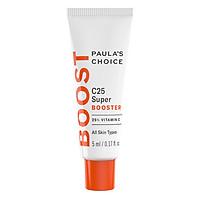 Tinh Chất Hỗ Trợ Điều Trị Nám Và Đốm Nâu 25% Vitamin C Paula's Choice Resist 25% Vitamin C Spot Treatment C25 Super Booster (5ml)
