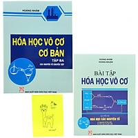 Combo Hóa Học Vô Cơ tập 3 (sách và sách bài tập) tặng kèm sổ tay màu sắc