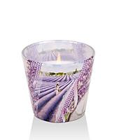 Ly nến thơm Bartek Candles BAT6022 Lavender Kiss 115g (Hương oải hương)