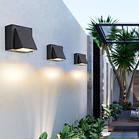 Đèn tường KELEG Decor hiện đại ngoài trời, trong nhà - Led siêu sáng 10w - chống nước IP 65