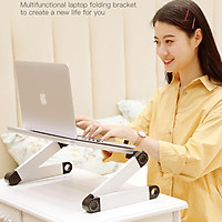 Giá Đỡ Laptop C01 Chân Xoay 360 Độ Gấp Gọn - Giao Màu Ngẫu Nhiên - Hàng Nhập Khẩu
