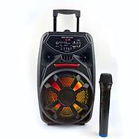 Loa Kẹo Kéo Karaoke GUTEK QS2802, Âm Thanh Hay, Bass Chuẩn, Kết Nối Bluetooth, Usb, 3.5, Thẻ Nhớ - Hàng chính hãng