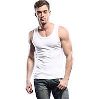 Áo thun ba lỗ nam chất vải cotton 100% thoáng mát co giãn