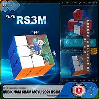 Đồ Chơi Trí Tuệ Rubik Moyu Nam Châm Phát Triển Kỹ Năng - Rubik Moyu 2020 RS2M/RS3M/RS4M-Nam Châm Từ Tính