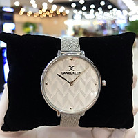 Đồng hồ nữ dây thép Daniel Klein DK.1.12256 [Full Box] - Kính Mineral, chống xước, chống nước