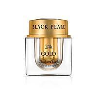 Mặt Nạ Vàng 24K Cleopatra Black Pearl - 24k Gold Cleopatra Mask -  Có Nguồn Gốc Từ Biển Chết - Xuất Xứ Israel - Tạo Ra Một Làn Da Tự Nhiên Làm Săn Chắc Và Mịn Màng