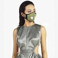 Khẩu trang thời trang cao cấp Soteria Willow ST195 - Khẩu trang vải than hoạt tính [size S,M,L] Van đen