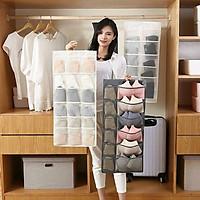 ️️ Túi vải treo 2 mặt đựng tất , đồ lót tiện ích thông minh , đa năng tối ưu không gian cho tủ quần áo