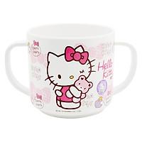 Cốc Có 2 Quai Cầm Lock&Lock Hello Kitty Dành Cho Trẻ Em LKT410 (7.8 x 7.8 x 7.2 cm)